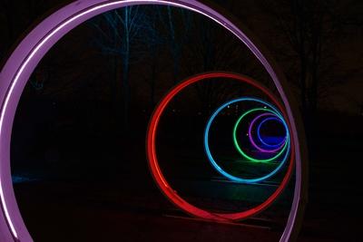 Licht- Spirale