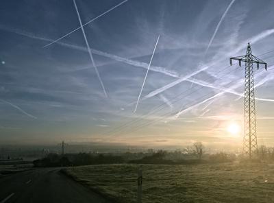 Morgensonne über Bubenheim