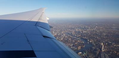 Landeanflug auf London