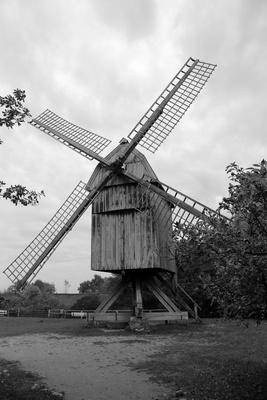 Alte Windmühle S/W