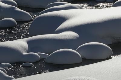 Schneepolster