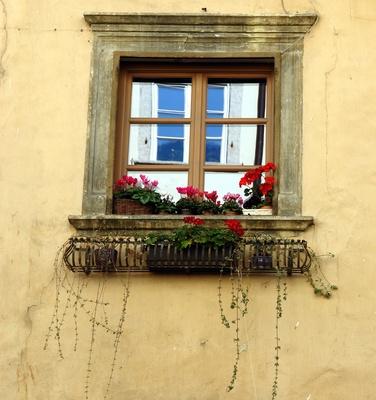 Fenster spiegelt Fenster