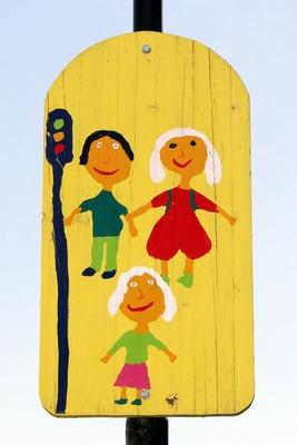 Rücksicht auf  Kinder im Straßenverkehr