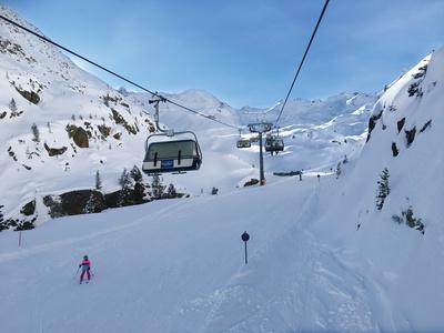 Skifahren Gletscher