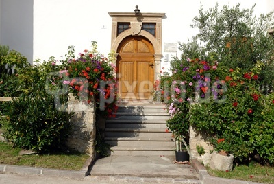 mediterraner Hauseingang