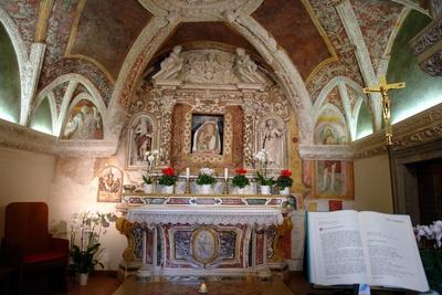Kirchenaltar Santa Maria Maggiore in Sirmione