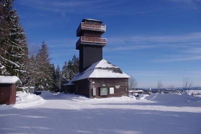 Leipziger Turm im Winter