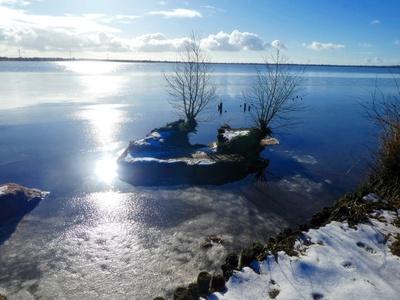 Winter am Ewigen Meer