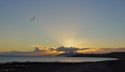 Sonnenuntergang über Jandia