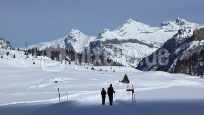 Ärmishorn und Dündenhorn über Kandersteg