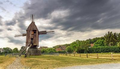 LWL Freilichtmuseum Detmold - 2 - Kappenwindmühle