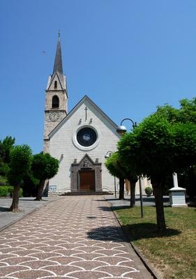 Kirche San Stefano in Cles (Trentino)