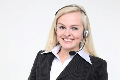 Call Center Agentin