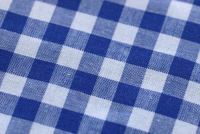 stoff blau weiß