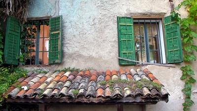 idyllische Altbaufenster