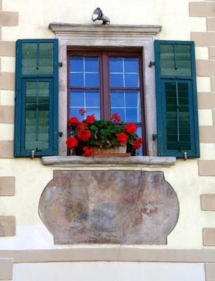 mediterranes Altbaufenster
