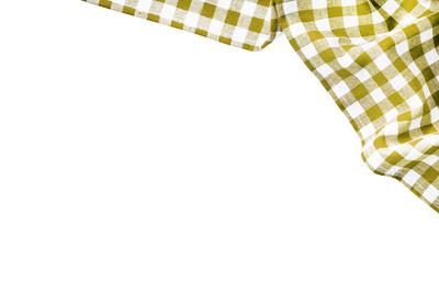 stoff gelb weiß