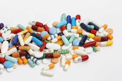 Tabletten, Pillen und Kapseln