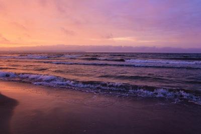 Ostsee Sonnenuntergang Prora