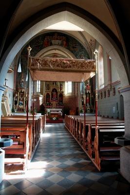 in der Herz-Jesu-Kirche zu Teis im Eisacktal