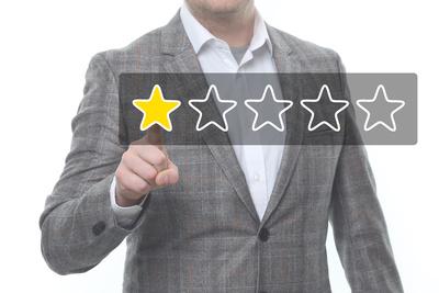 1 Sterne Bewertung