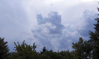 Wolkenberg Anfang vom Unwetter