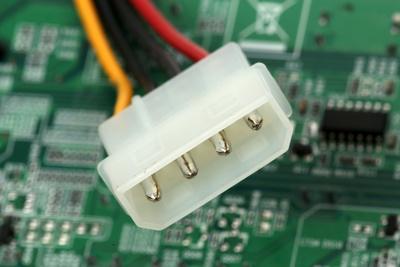 Stromstecker einer Festplatte
