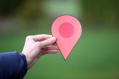 Standortmarkierung