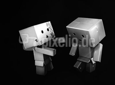 Danbo is consoling