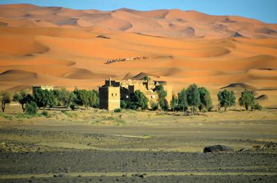 Erg Chebbi Wüste Merzouga