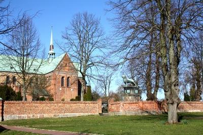 Der Dom zu Ratzeburg-Teilansicht