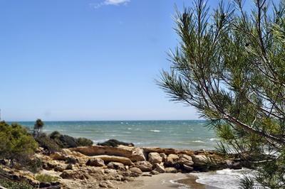 Strand bei Alcossebre Spanien