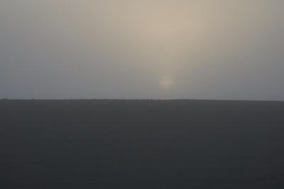 Sonnenaufgang im Nebel 1