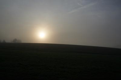 Sonnenaufgang im Nebel 3