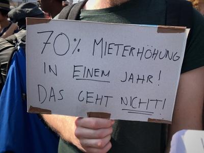 Mietenwahnsinn: Mieterhöhung / Foto: Alexander Hauk