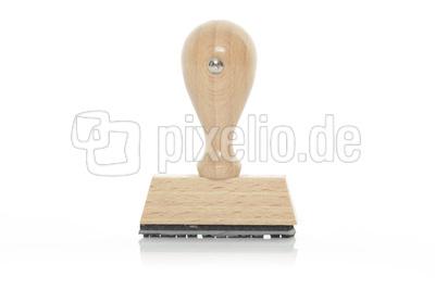 Holzstempel blanko