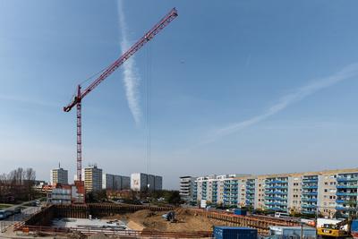 Vorbereitung für Wohnungsbau