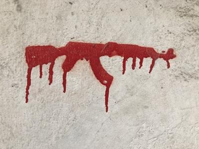 Graffiti: Kein Geld für Waffen