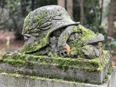 Grabstein eines Soldaten