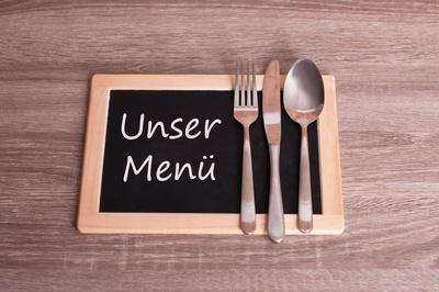Festtags Menü