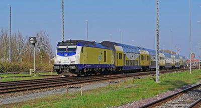 Regionalexpress Cuxhaven - Hamburg