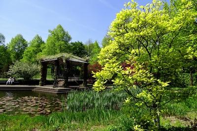 Mülheims Garten an der Ruhr