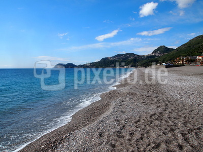 Strand und Meer in Sizilien