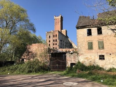 Verlassene Orte: Industrieanlage in Halle