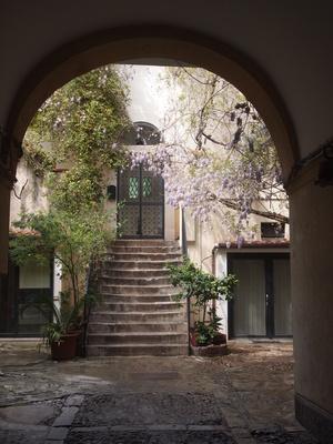 Innenhof auf Sizilien