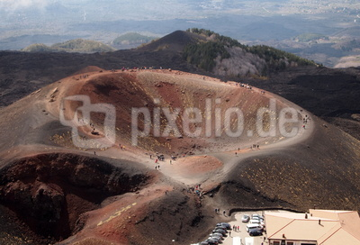 Silvestri-Krater am Ätna