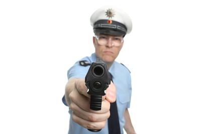 Hände hoch, Polizei!