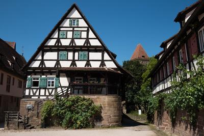 Fachwerkhäuser im Klosterhof zu Maulbronn