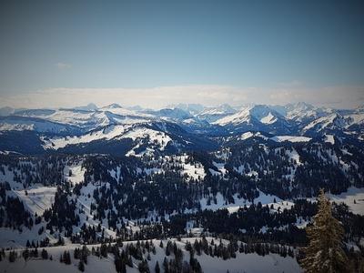 Alpine Aussicht
