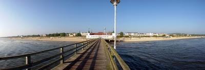 Panorama Seebrücke Ahlbeck / Usedom